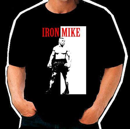 Mike Tyson Scarface Boxing T Shirt t-shirt