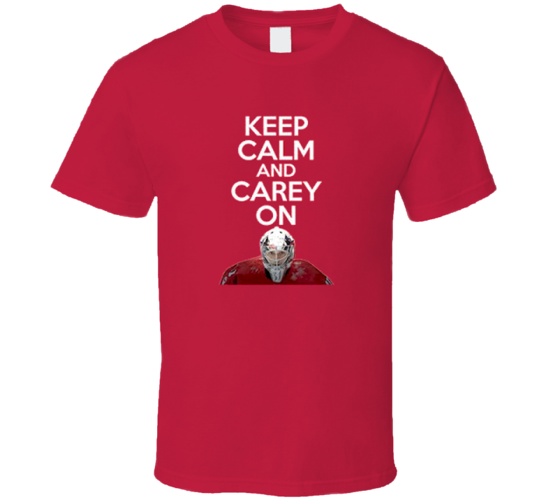 Keep Calm and Carey Price ON Montreal Hockey T Shirt