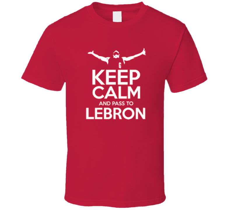 Keep Calm and Lebron Miami Basketball T Shirt