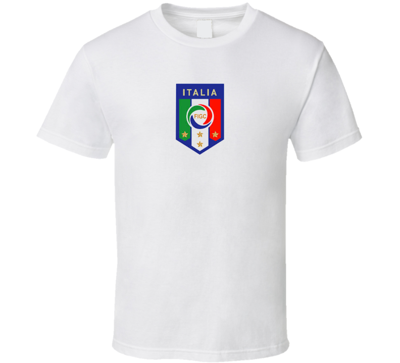 Italy World Cup Soccer Football T Shirt