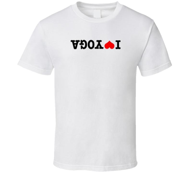 I Love Yoga T Shirt