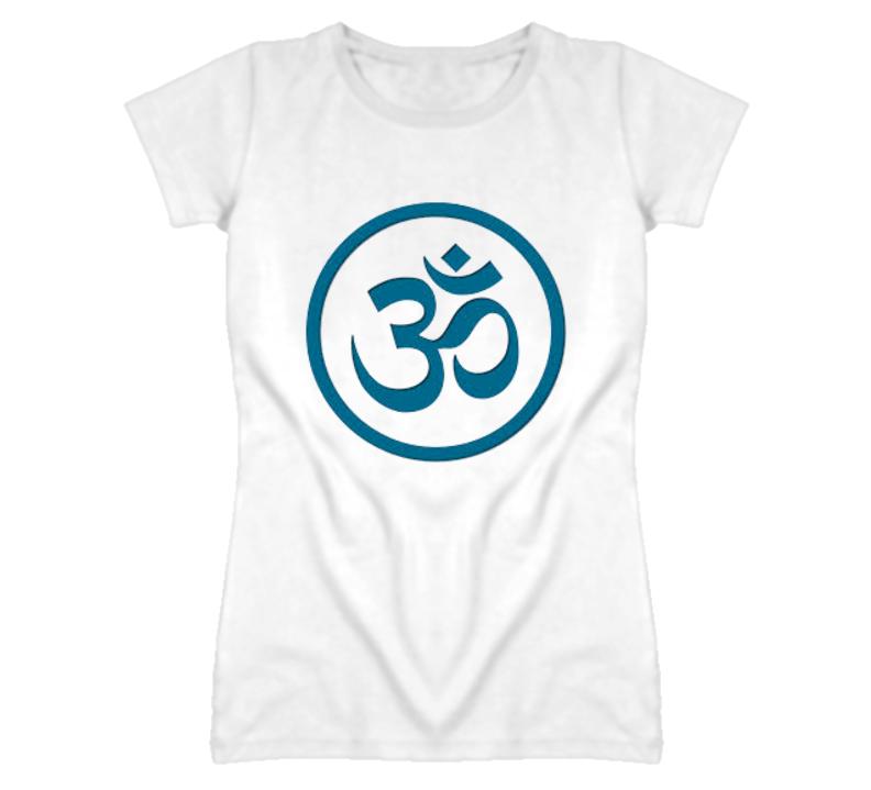 Namaste Spirtual Yoga Symbol T Shirt