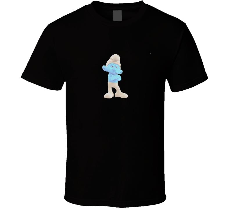 Grumpy Smurf T Shirt