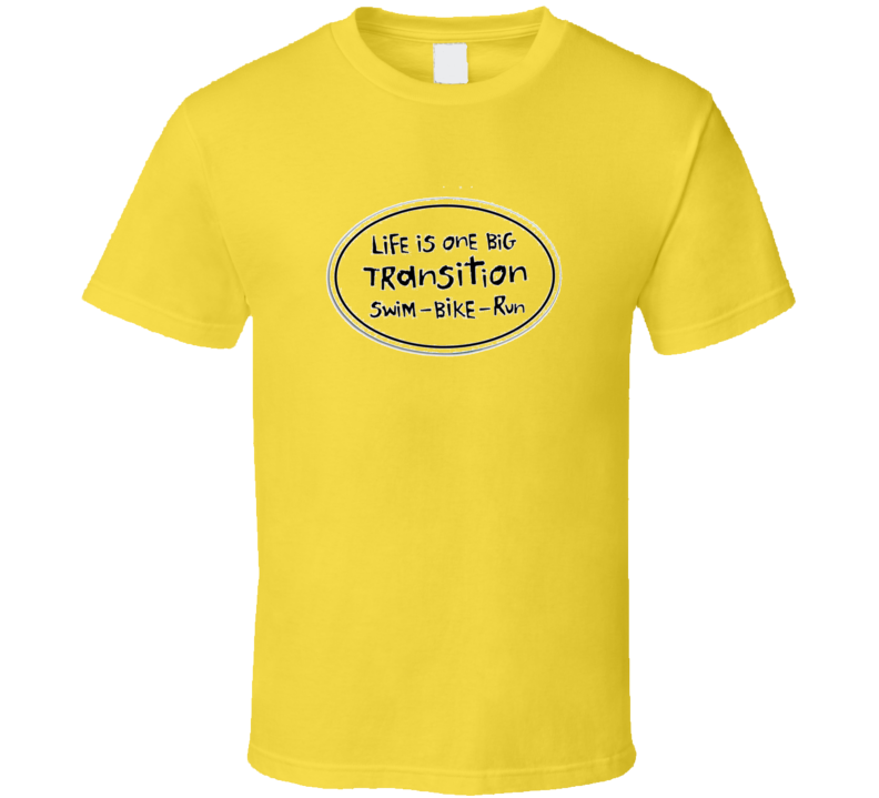 Triathalon Transition T Shirt