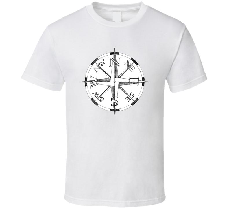 Compass Vintage T Shirt