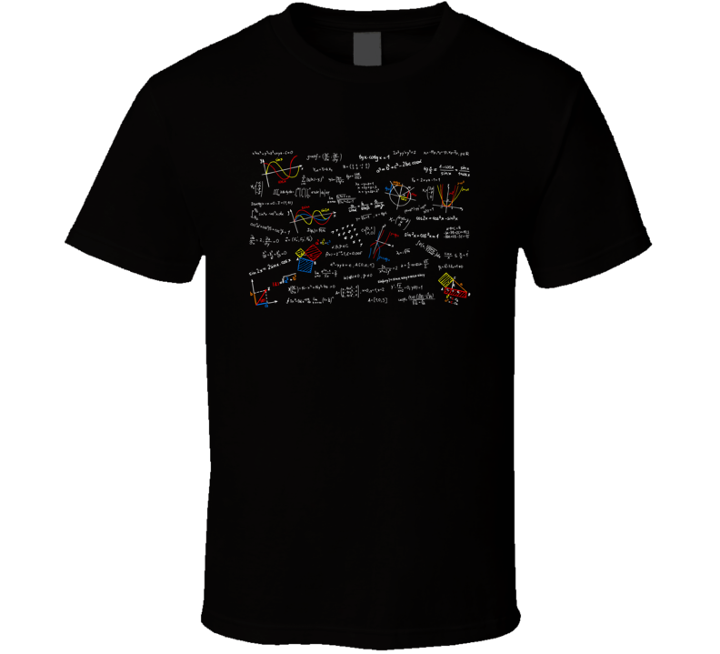 Random Equations Pop Culture T Shirt