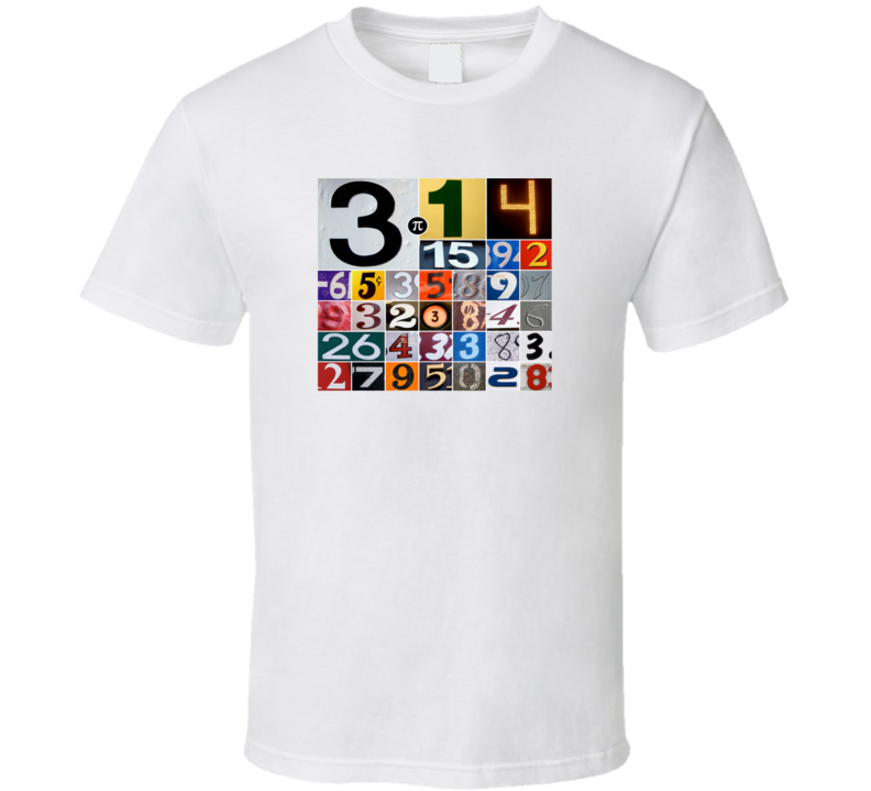 Pi Day T Shirt