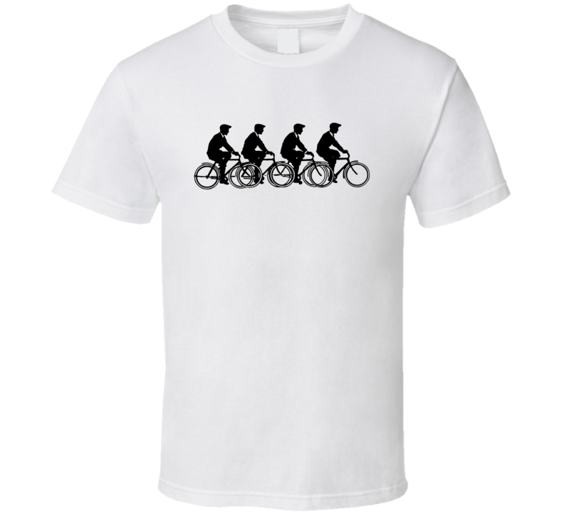 Vintage Cycling Biking Bicycle T Shirt