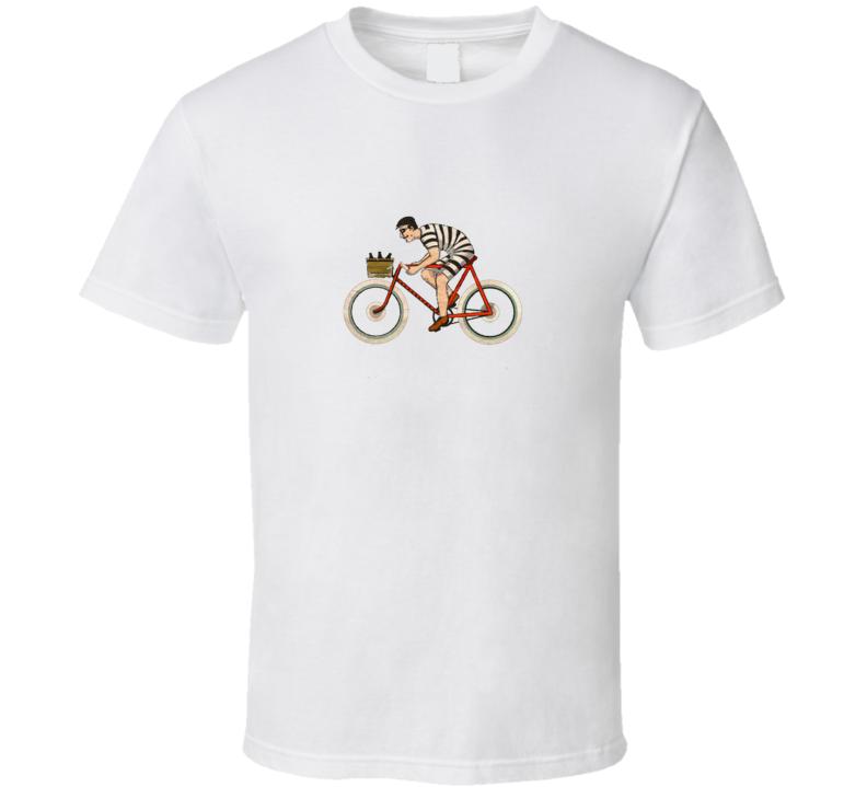 Vintage Bike Rider Bicycle Cycling T Shirt