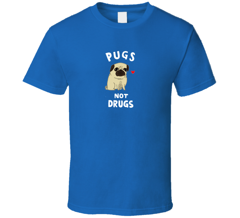Pugs Not Drugs Vinny Guardagnino Jersey Shore Anti Drug T Shirt