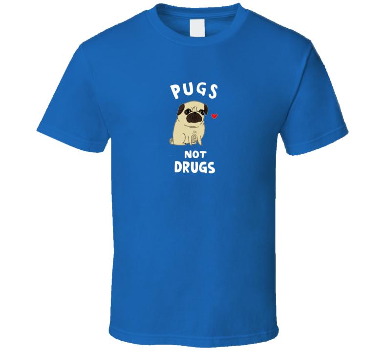 Pugs Not Drugs Vinny Guardagnino Jersey Shore Anti Drug T Shirt