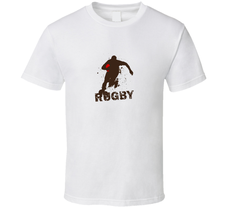 Rugby Run Try T Shirt