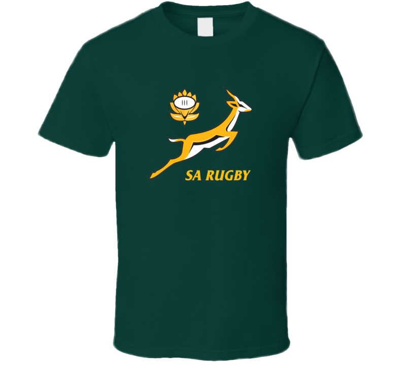 South Africa Springboks SA Rugby T Shirt