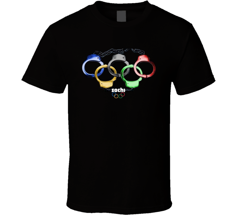Sochi Olympics Gay Rights Anti Gay Pride T Shirt