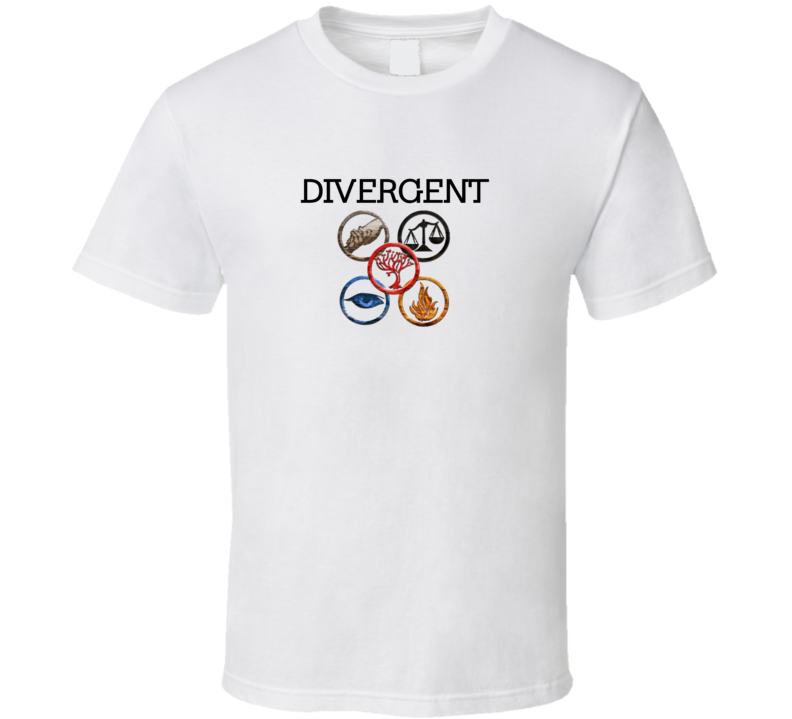Divergent Movie T Shirt