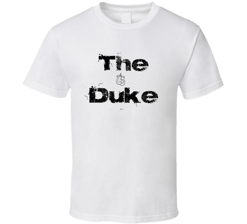 The Duke Tommy Morrison T Shirt