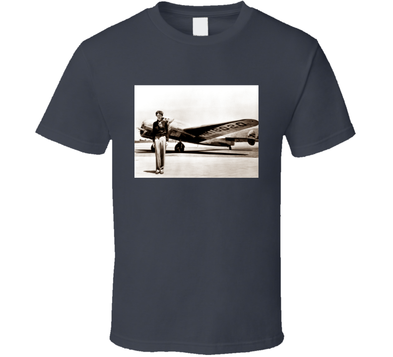 Amelia Earhart T Shirt