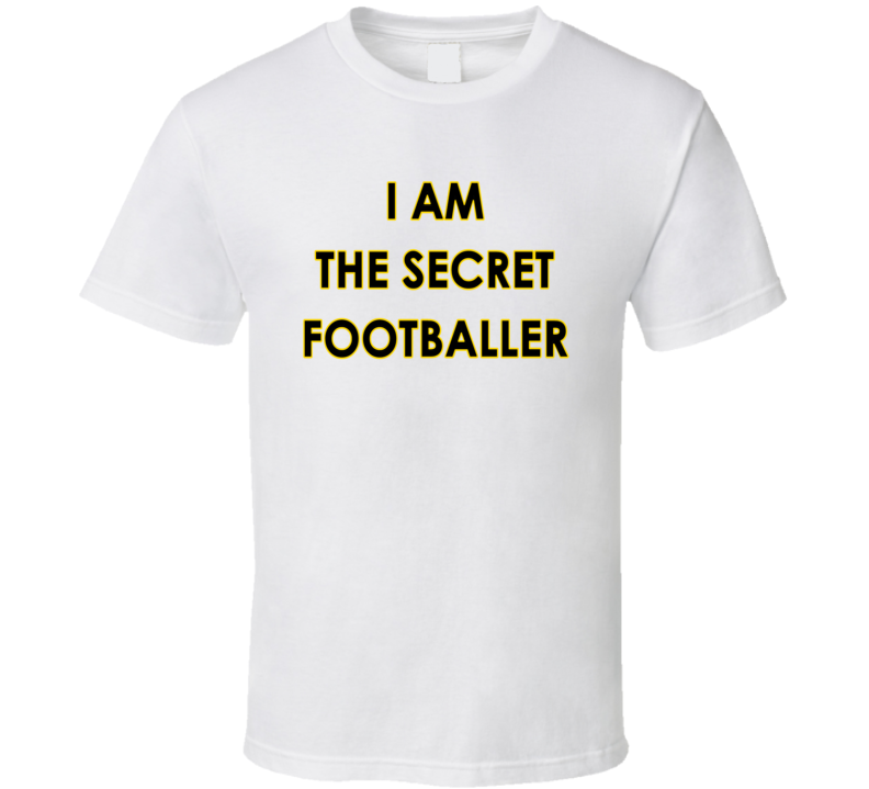The Guardian I Am The Secret Footballer T Shirt