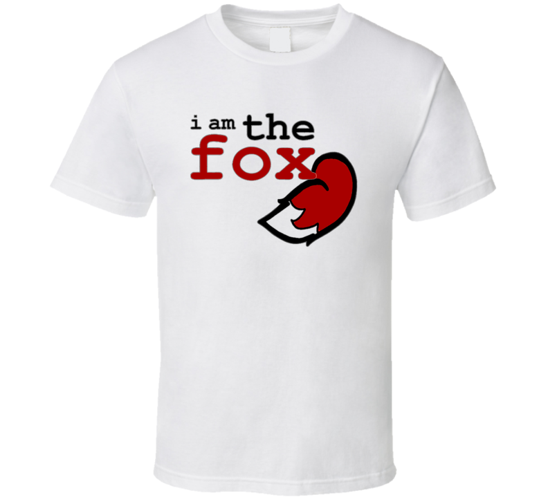 I Am The Fox What Does The Fox Say T Shirt