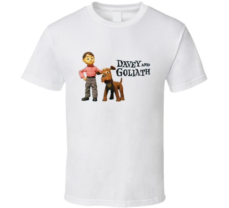 Davey And Goliath T Shirt