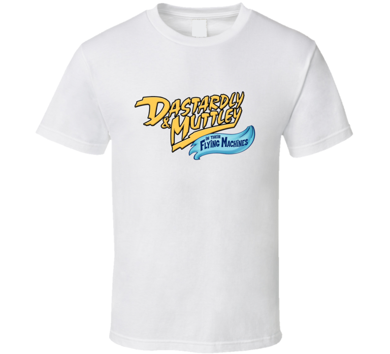 Dastardly And Muttley In Their Flying Machines T Shirts T Shirt
