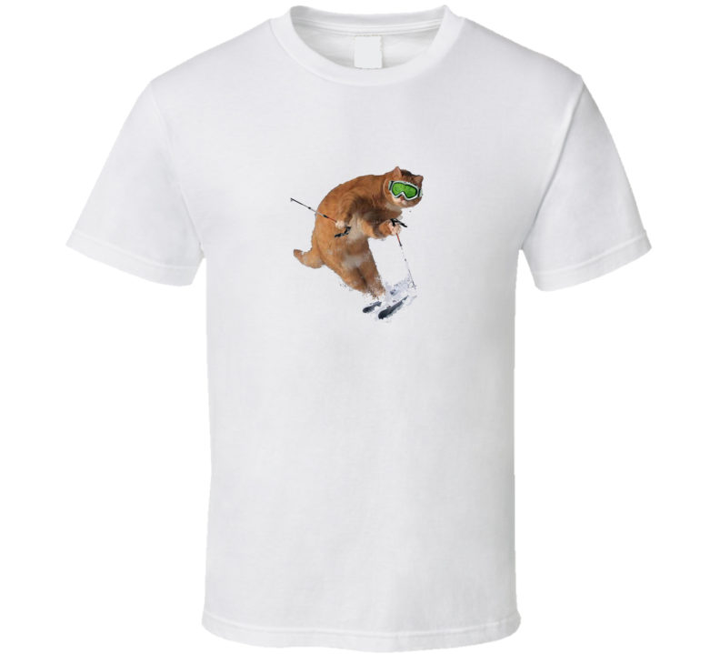 Ski Cat T Shirt