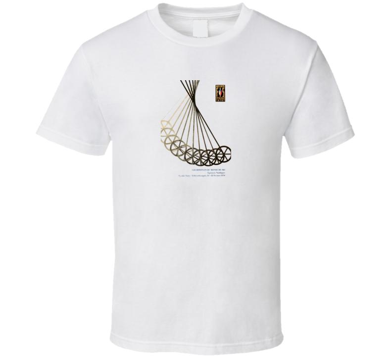 1970 FIS Ski T Shirt