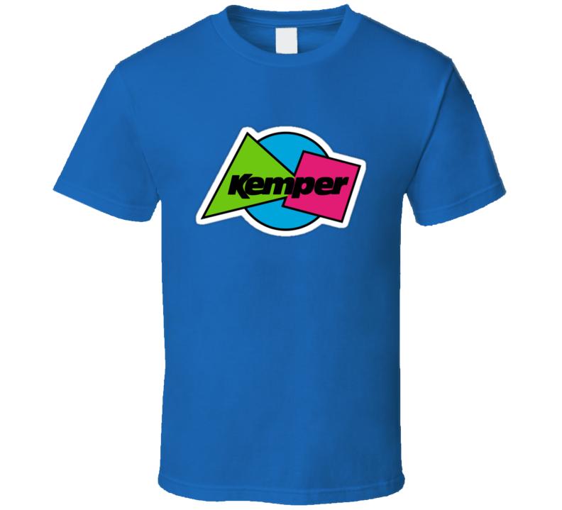 Kemper Vintage Snowboard Brand T Shirt