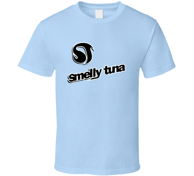 Smelly Tuna Retro Snowboard Brand T Shirt