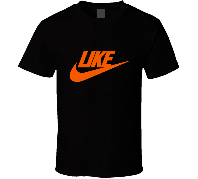 Like Nike Parody T Shirt