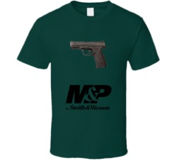 M&P Pistol Smith And Wesson Gun Fan T Shirt