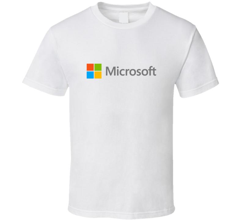Microsoft PC Fan T Shirt