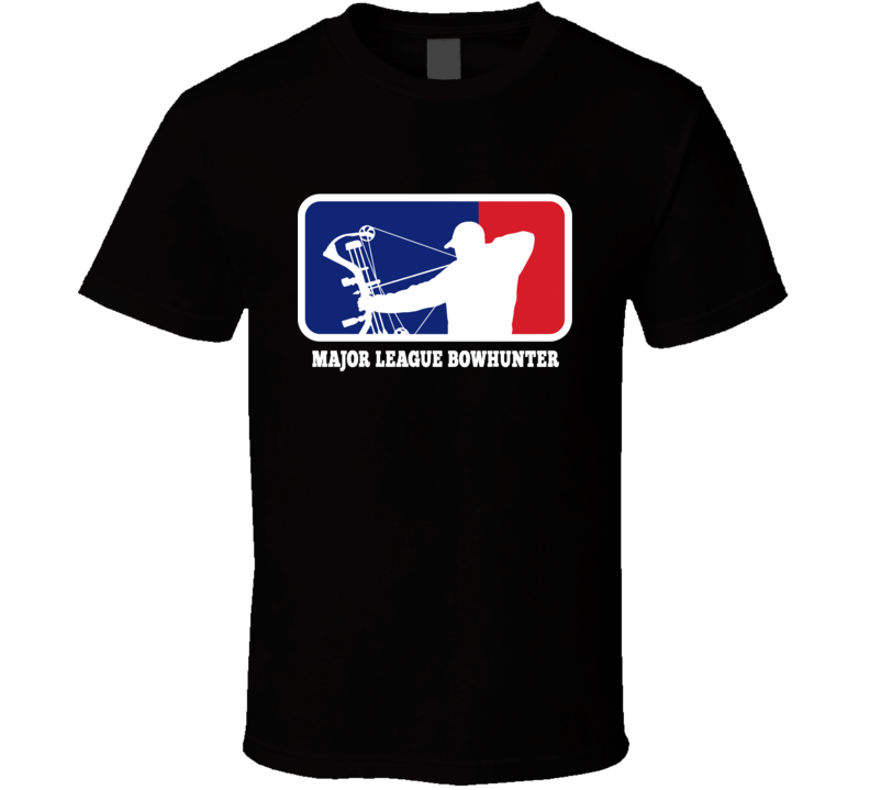 MLB Major League Bow Hunter Hunting T Shirt