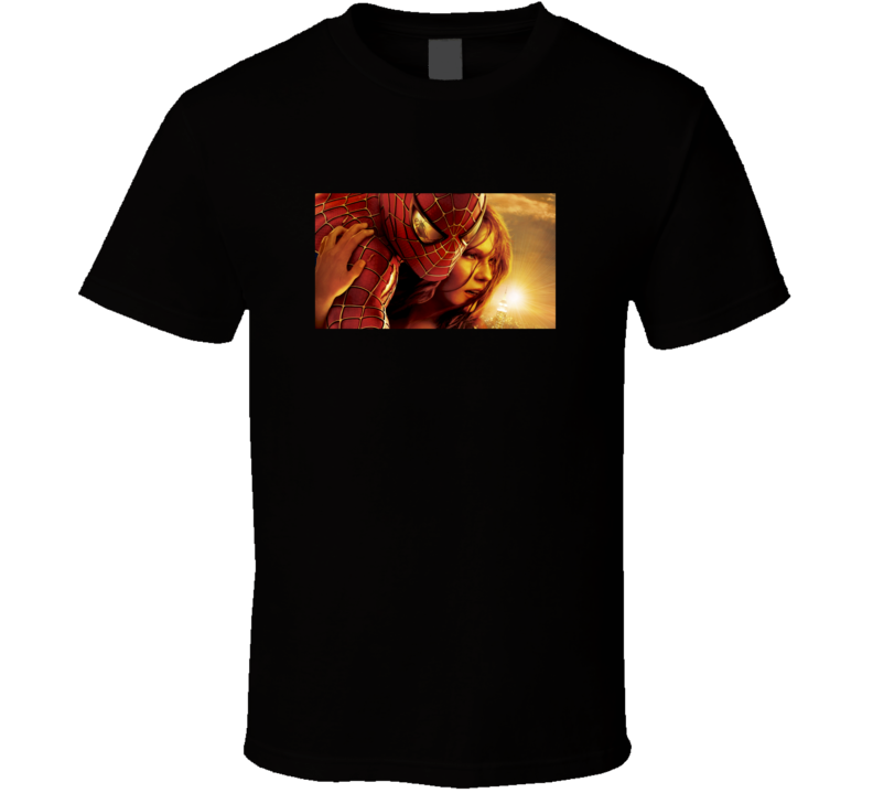 Spiderman 2002 Movie Fan T Shirt