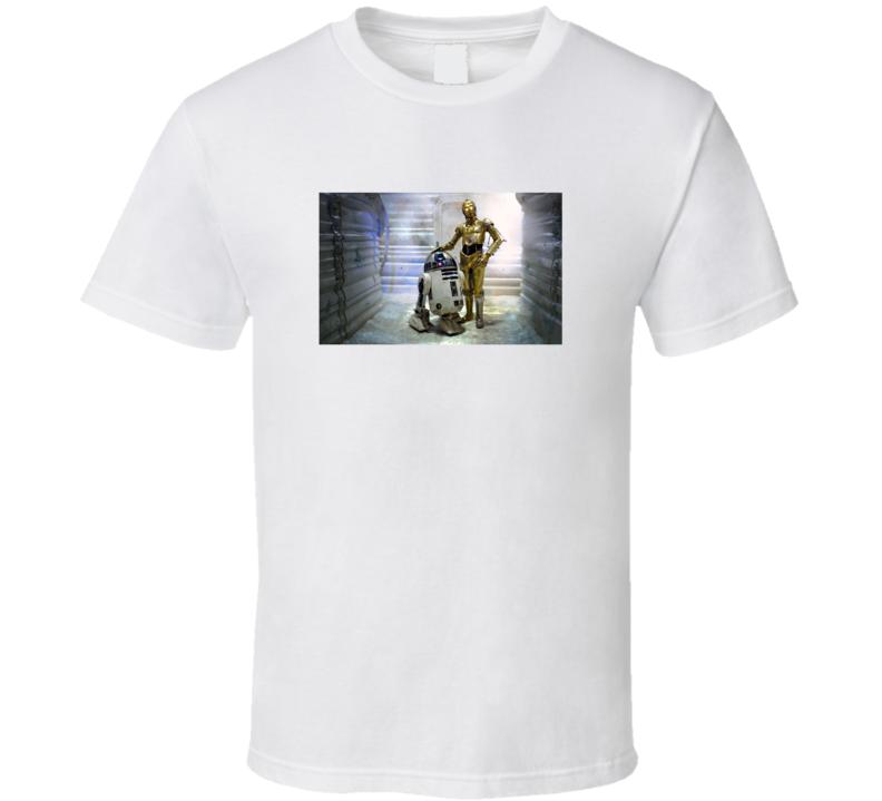 R2-D2 Best Friends C-3PO Star Wars Number One Movie Fan T Shirt
