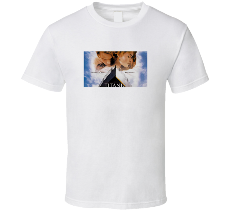 Titanic DiCaprio Winslet Movie Fan T Shirt