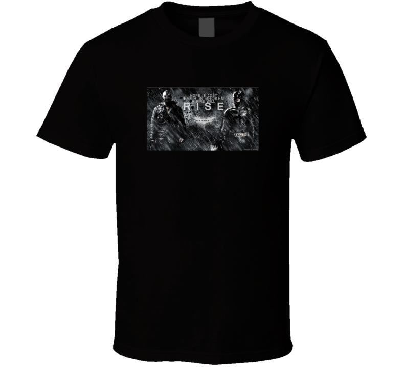 Batman The Dark Knight Rises Badass Movie Fan T Shirt