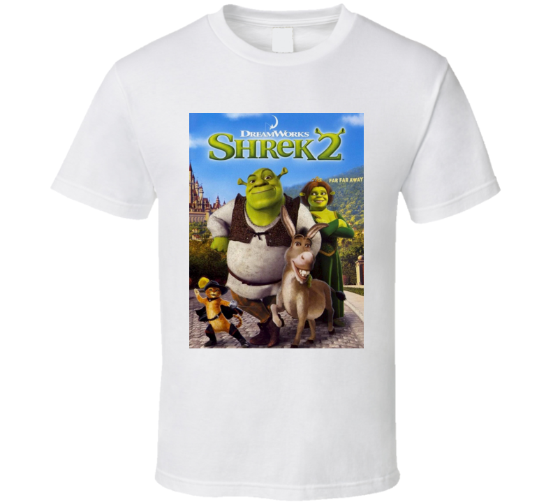 Shrek 2 Dream Works Movie Fan T Shirt
