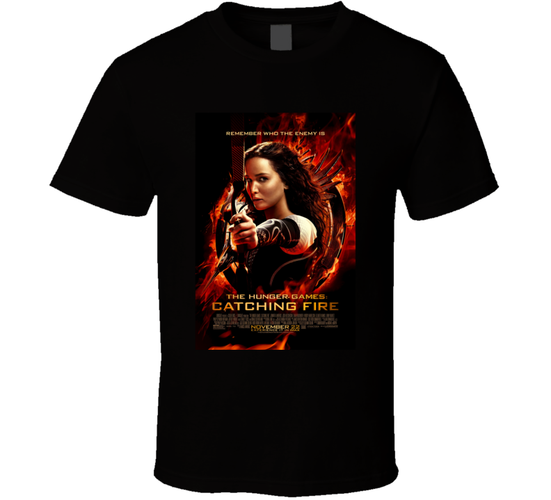The Hunger Games Catching Fire Movie Fan T Shirt