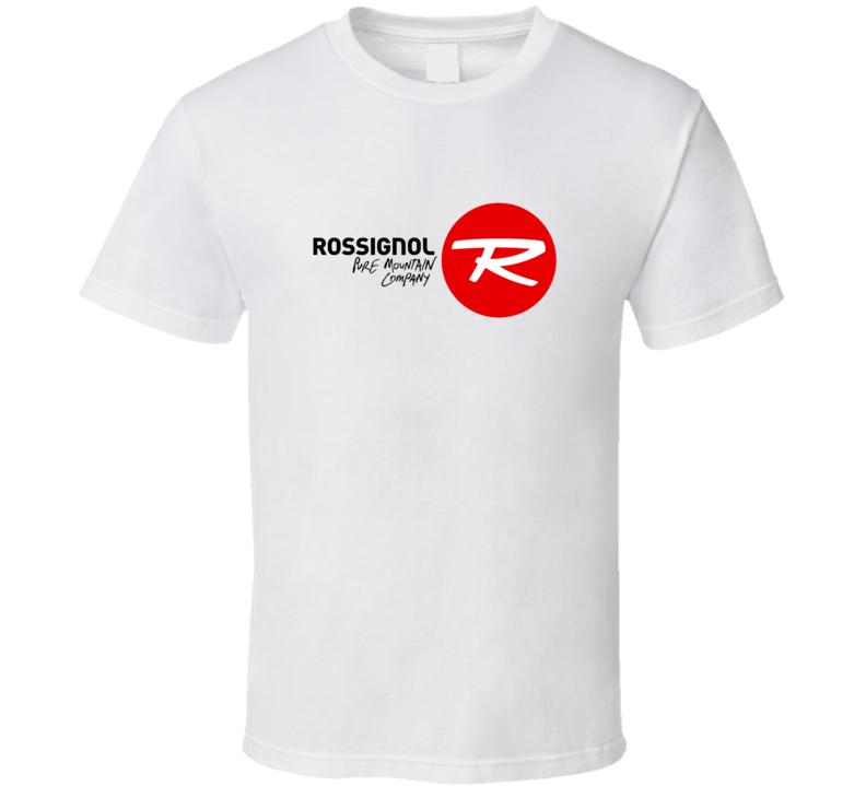 Rossignol Ski Pure Mountain Company Fan T Shirt