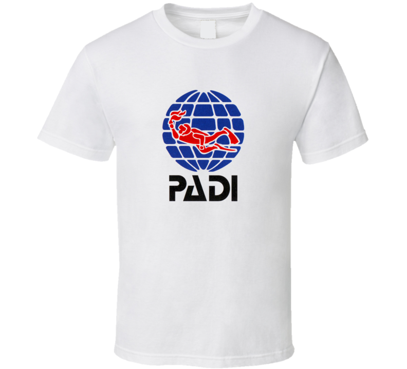 PADI Scuba Diving Fan T Shirt