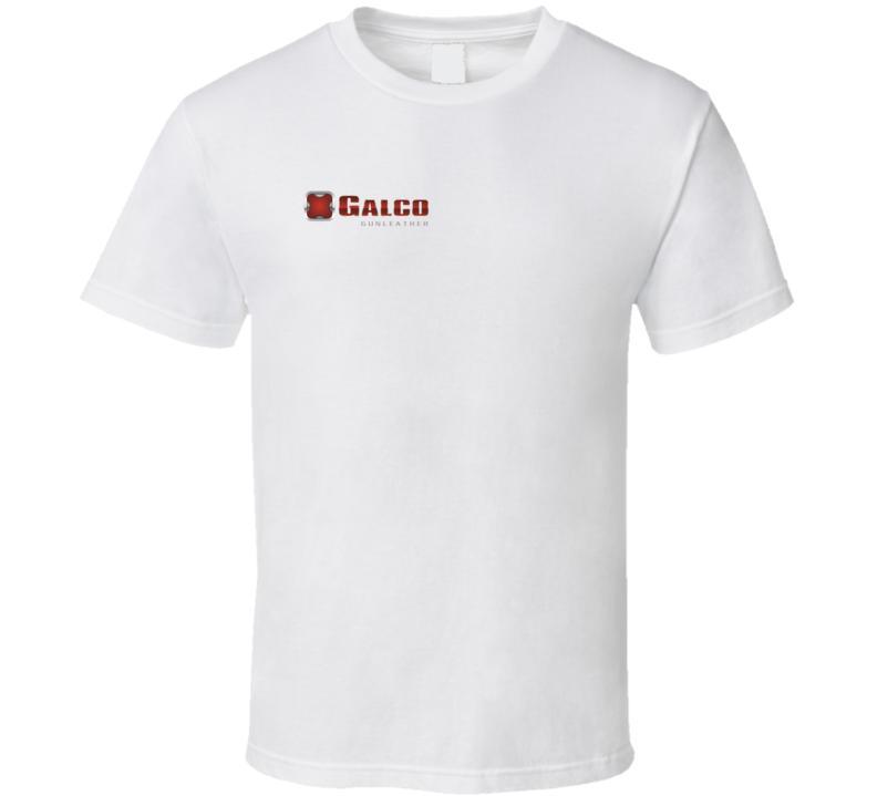 Galco Gun Leather Shooting Hunting Gun Fan T Shirt