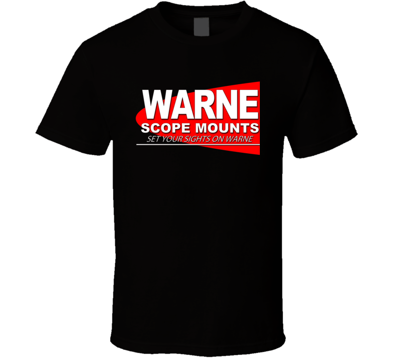 Warne Snope Mounts Shooting Hunting Gun Fan T Shirt