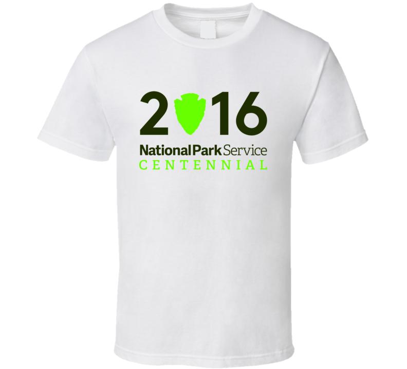 National Park Service Centennial Year 2016 USA Fan T Shirt