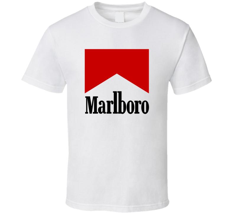 Marlboro Cigarette Fan T Shirt