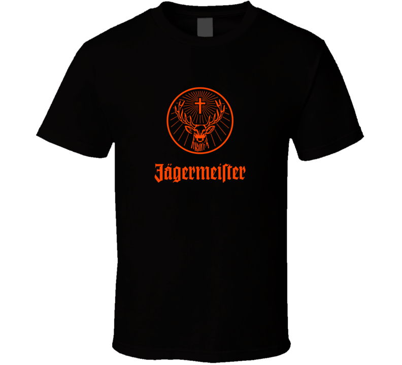 Jagermeister Alcohol Fan T Shirt