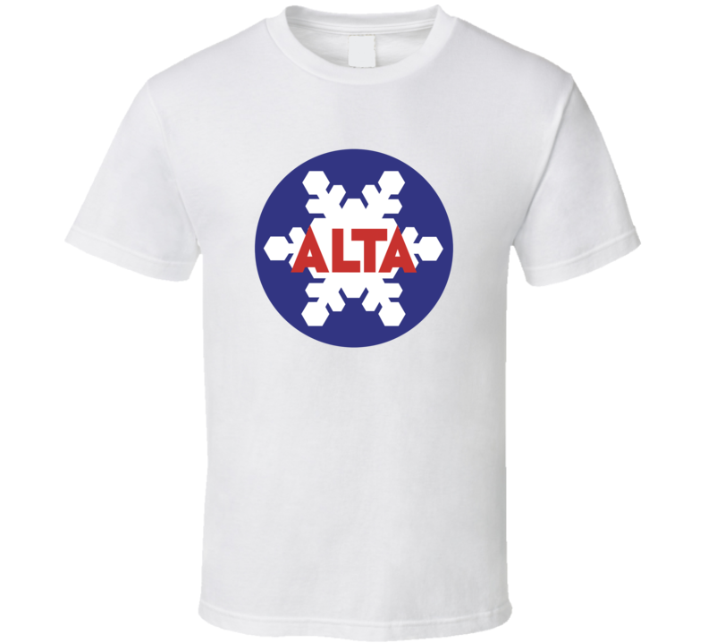 Alta Ski Resort Utah Fan T Shirt