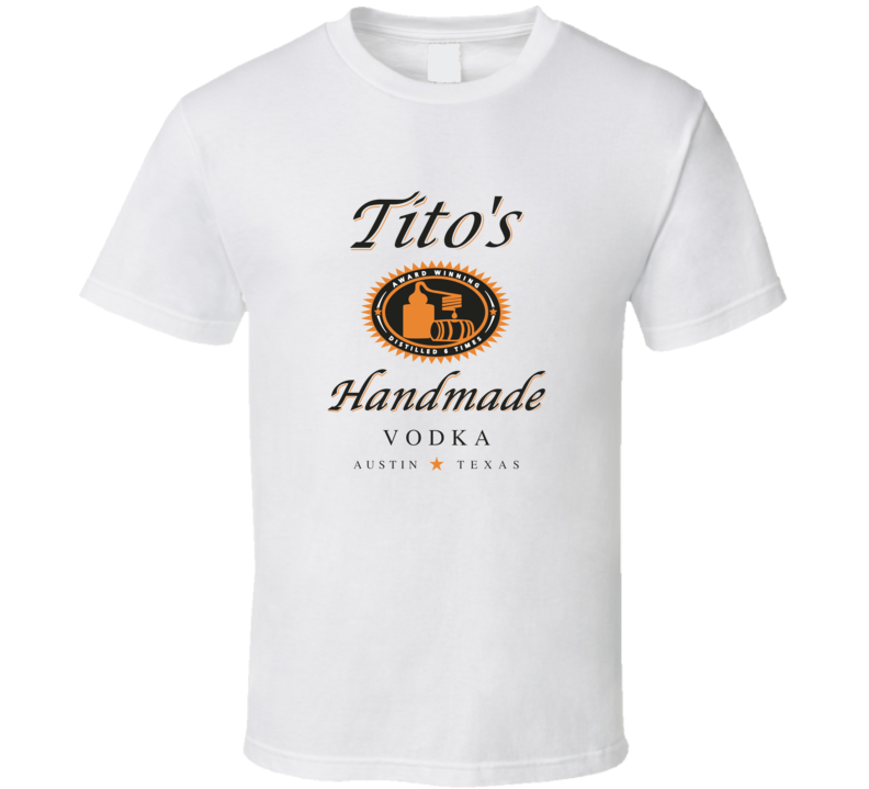 Tito's Handmade Vodka Texas Fan T Shirt