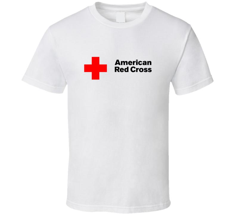 American Red Cross Fan T Shirt