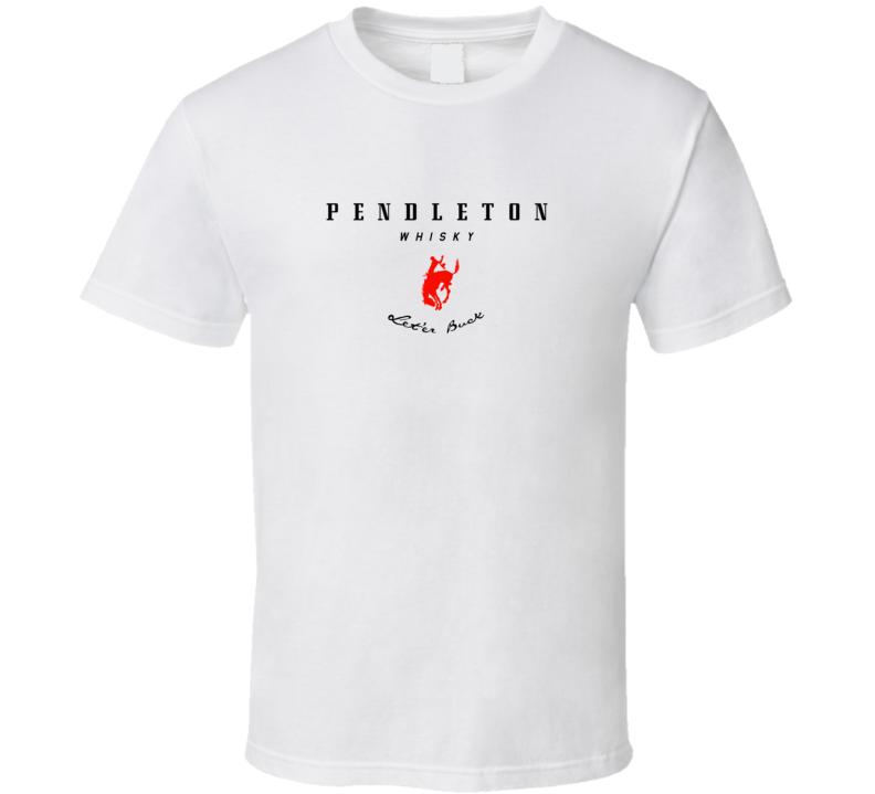 Pendleton Whisky Let'er Buck Fan T Shirt